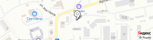 Элита на карте Екатеринбурга
