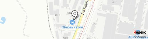 ОКРУГ 96 на карте Екатеринбурга