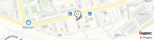 Манчестер на карте Екатеринбурга