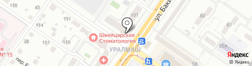Пиръмаркет на карте Екатеринбурга