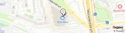 Магазин картин по номерам на карте Екатеринбурга