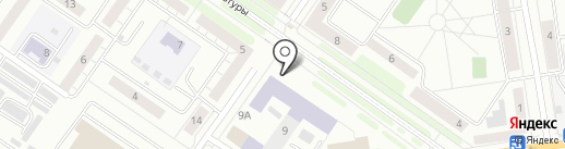 Кармина на карте Екатеринбурга