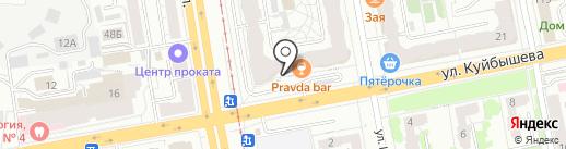 Орис-Лайн на карте Екатеринбурга