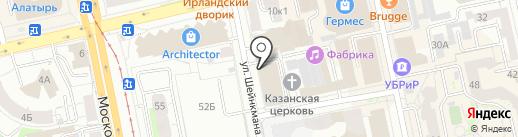 Брезент Плюс на карте Екатеринбурга