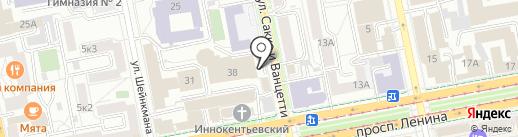 PickPoint на карте Екатеринбурга