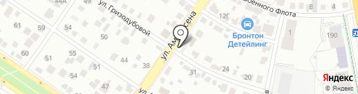 Доломит на карте Екатеринбурга