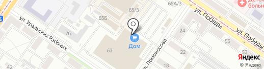ВИПСИЛИНГ на карте Екатеринбурга
