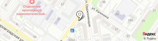 Товары нового света на карте Екатеринбурга