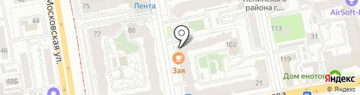 Сказочная страна на карте Екатеринбурга