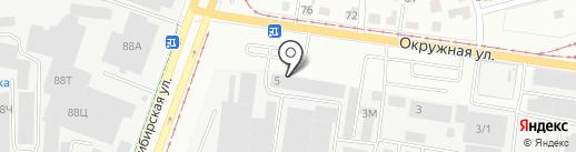 Бетон-Сити на карте Екатеринбурга