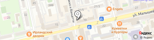 Рякшина Э.С. на карте Екатеринбурга