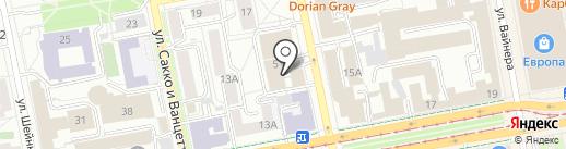 Комитет Гражданских Инициатив на карте Екатеринбурга