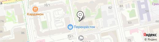 Территория Права на карте Екатеринбурга
