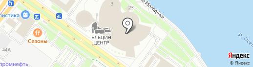 ИдиРисуй на карте Екатеринбурга