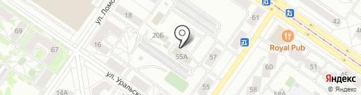Шаг вперед на карте Екатеринбурга
