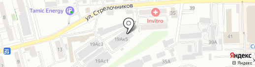 Дорстройкомплект на карте Екатеринбурга