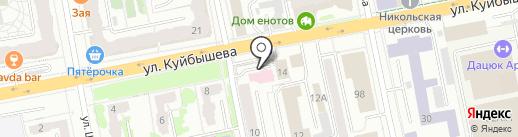 Доктор Плюс на карте Екатеринбурга