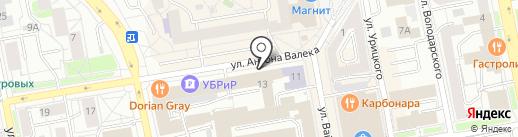 Профессиональный финансовый альянс на карте Екатеринбурга