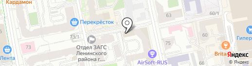 ЭнергоРесурсЗащита на карте Екатеринбурга