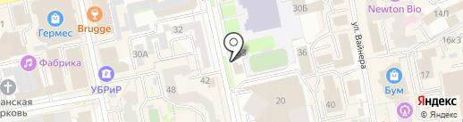РемОкОн на карте Екатеринбурга