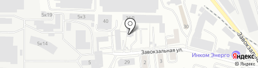Полиграф на карте Екатеринбурга