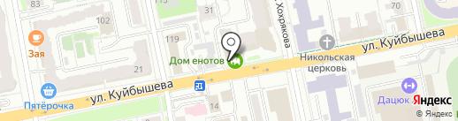 White Park на карте Екатеринбурга
