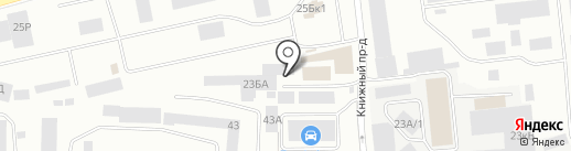 Nexar на карте Екатеринбурга