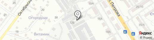 Стройпрофиль на карте Верхней Пышмы