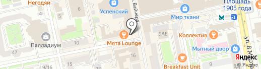 2/12 на карте Екатеринбурга