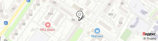 СВЕТ на карте Екатеринбурга