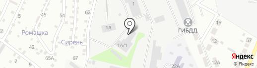 Офсет+ на карте Верхней Пышмы