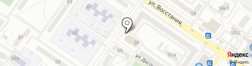 НОЛЬ ПЛЮС на карте Екатеринбурга