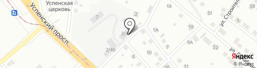 AvtoTime на карте Верхней Пышмы