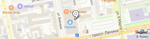 МАРС на карте Екатеринбурга