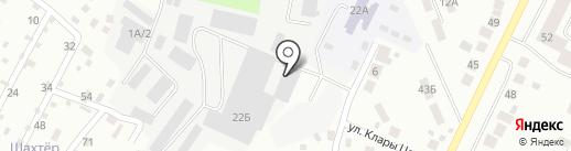 Мафус на карте Верхней Пышмы