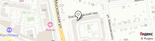 Строительный двор на карте Екатеринбурга