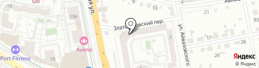 Egoist на карте Екатеринбурга