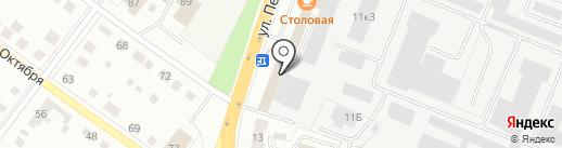 Стокбург на карте Верхней Пышмы