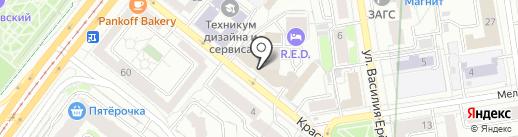 АМОС-Групп, ЗАО на карте Екатеринбурга