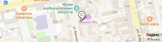 Салон цифровых услуг на карте Екатеринбурга