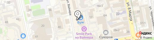 CHIC на карте Екатеринбурга