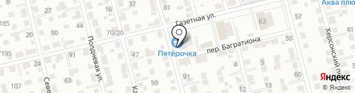 Пятерочка на карте Екатеринбурга