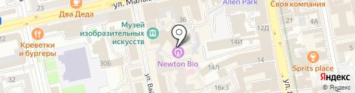 ARTREGION на карте Екатеринбурга