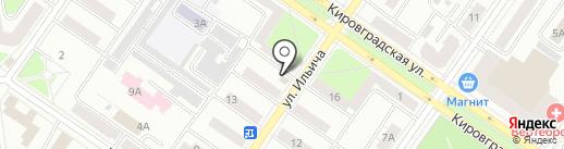 Джан на карте Екатеринбурга