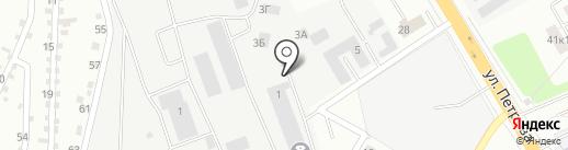 Купи-Купе на карте Верхней Пышмы