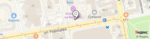 Екатеринбургская компьютерная помощь на карте Екатеринбурга