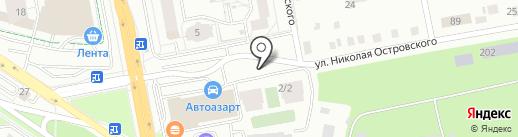 Стройцентр-II на карте Екатеринбурга