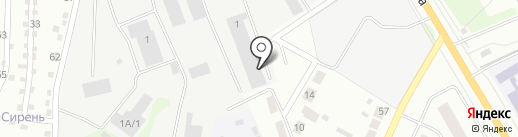 Отдел технического надзора и регистрации автомототранспортных средств ГИБДД на карте Верхней Пышмы