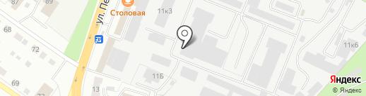 Светолюкс на карте Верхней Пышмы