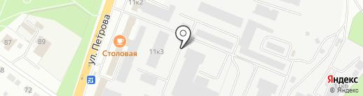 Аккумуляторный центр BOSCH на карте Верхней Пышмы